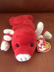Ty Beanie Baby Snort The Bull With Rare Tabasco Tag Error