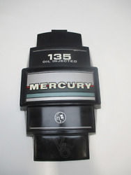 Mercury Outboard 135hp Oil Injected V6 Black Front Cowl Cover