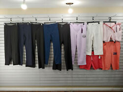 New Lot Of 10 Womens Clothes Pants Size 18 1x 2x Shorts Trouser Jeans 256