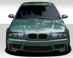 Duraflex 1m Look Front Bumper Body Kit For 99-06 Bmw 3 Series E46