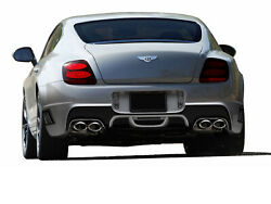 Aero Function Gfk Af-1 Rear Bumper Body Kit For 03-10 Bentley Continental Gt