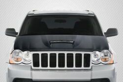 Carbon Creations Srt Look Hood For 05-10 Jeep Grand Cherokee