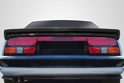 Carbon Creations Ducktail Rear Wing Spoiler For 84-89 Nissan Z31 300zx