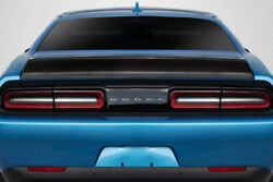 Carbon Creations Iconic Rear Wing Trunk Lid Spoiler For 08-20 Dodge Challenger