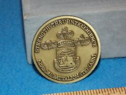Us Army 519th Military Intelligence Battalion Airborne Ranger - Challenge Coin