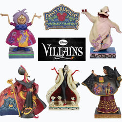 Range Of Disney Traditions Villains Figurines Brand New And Boxed