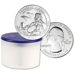 2021 Atb Tuskegee Airmen Silver 5 Oz 25c Bu 10 Coins Mint-issued Tube