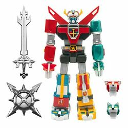 Super7 Ultimates Voltron Defender Of The Universe Chrome Edition In Stock New