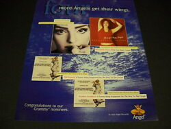 Liza Minnelli Bernadette Peters Others 1997 Promo Poster Ad Mint Condition