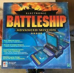Electronic Battleship Advanced Mission Board Game 2000