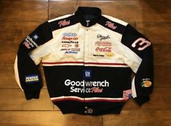 Dale Earnhardt 3 Gm Goodwrench 7 Time Champ Jacket Mens Size Large Nascar Rare
