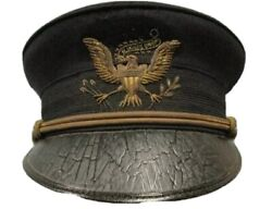 Us Army 1902 All Branch Officer Dress Hat Heavy Bullion Early Eagle Replica