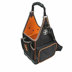 17quot; Electricians Tool Tote 20 Pockets Black Orange $105.03