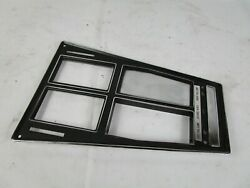 1972 - 1976 Corvette Console Plate Assembly 3996818 4-speed Air