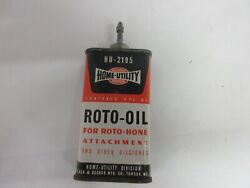 Vintage Advertising Black And Decker Handy Oiler Oil Auto Tin Can A-457