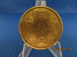 Military Challenge Coin Vietnam The Wall Vfw Silver Finish Lot R