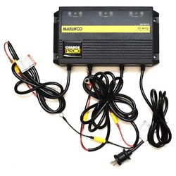 Marinco Boat Battery Charger 28330 | Chargepro 30a 3 Bank 12/24/36v