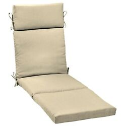 Chaise Lounge Cushions Outdoor Chair Deep Seat Patio Pad Uv Fade Resistant 72x21