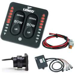 Lenco Led Indicator Two-piece Tactile Switch Kit W/pigtail F/single Actuator Sys