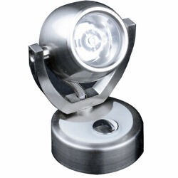 Lunasea Wall Mount Led Light W/touch Dimming - Warm White/brushed Nickel Finish