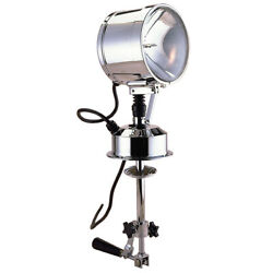 Perko 7 Searchlight - 12v - Chrome 0314c0712v