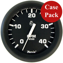 Faria 4 Tachometer Euro Style 4000 Rpm Diesel Mech Takeoff Andamp Var Ratio A