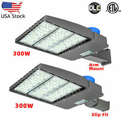 300w Led Parking Lot Light Dusk To Dawn Led Outdoor Barn Security Lights Us Ship