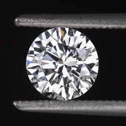 Certified F Vs2 Diamond 0.68ct Very Good Cut Round Brilliant Engagement Loose