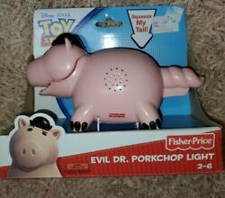 New Collectible 2009 Fisher-price Evil Dr Porkchop Light Toy Story 3 Flashlight