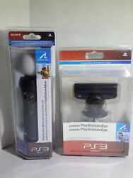 New Sony Playstation 3 Ps3 Eye Camera And Move Motion Controller Vgc Read
