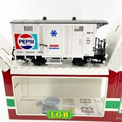 Vintage Lgb G Scale Pepsi Train Reefer Boxcar 4031 New In Box Unopened