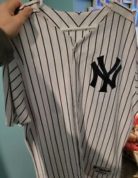 Alex Rodriguez New York Yankees Authentic Home Jersey Size 48 Russell.