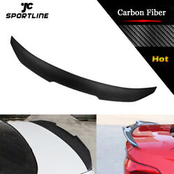 Fit For Bmw F44 228i M235i 4d 2020-2021 Rear Trunk Spoiler Wing Dry Carbon Trim