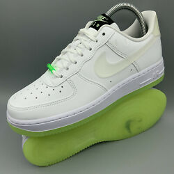 Nike Air Force 1 07 Lx Have A Nike Day Glow In The Dark Ct3228-100 Wmns Size 8.5