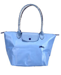 New Longchamp Le Pliage Club Tote Bag Cloud Blue 1899 Made In France