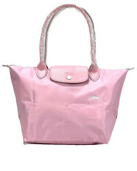 New Longchamp Le Pliage Club Tote Bag Cute Pink 1899 Made In France