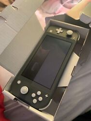 Nintendo Switch Lite 32gb Handheld Video Game Console 2 Games Included