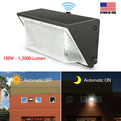 20 Pack 150w Led Wall Pack Light Dusk To Dawn Commercial And Industrial Lighting