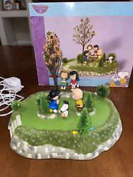 Department 56 Peanuts Animated Easter Beagle Egg Hunt Year 2006