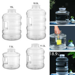 Plastic Large Capacity Water Storage Bottle Bucket Tank Outdoors Camping