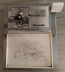 Vintage Built-in Thermador Electric Can Opener Adds Retro Look To Any Kitchen