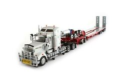 Kenworth T908 W/ Drake 4x8 Swingwing Trailer - White/red 150 Scale T09001 New