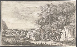Mccreery - The Flight Into Egypt. 20 By Lorrain From 1660, 1816 Etchings