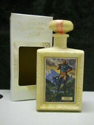 Jw Dant Whisky American Collection Paul Bunyan And Ox Bottle 1969 Empty