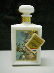 Jw Dant Whisky American Collection The Boston Tea Party Decanter Bottle Empty