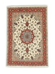 Hand-made 4'9 X 7'1 Hand-knotted Bijar Wool Area Rug Hand-knotted Wool 5x8 ...