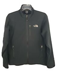 The North Face Apex Barrier Soft Shell Mens Large Black Full Zip Jacket Coat $64.99