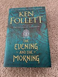 The Evening And The Morning By Ken Follett Hardcopy $18.00