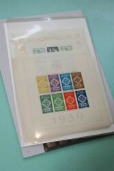Portugal Early Sheets With 1 3-9 11 12 Mnh Stamp Collection
