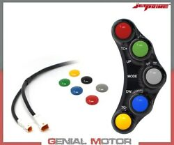 Jetprime Racing Left Handlebar Switch For Ducati Panigale 959 2016 2019